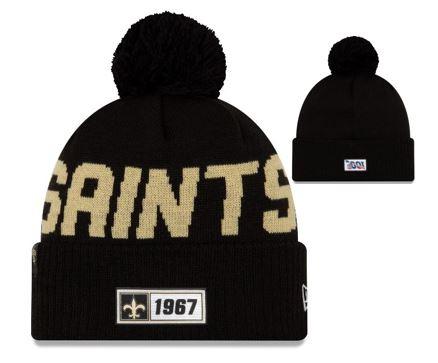 New Orleans Saints Knit Hat - Road