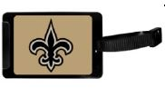 New Orleans Saints Luggage Tag