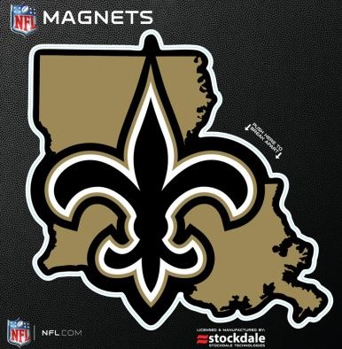 New Orleans Saints Magnet - State FDL