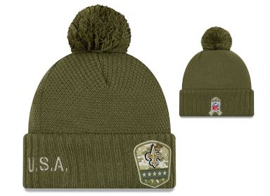 New Orleans Saints Military Knit Hat - Women
