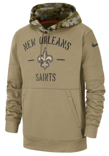 New Orleans Saints Hoodie - Salute to Service