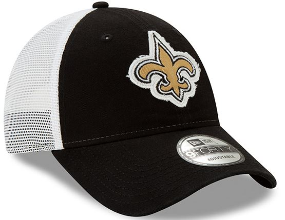 New Orleans Saints Cap - Truckered Adjustable