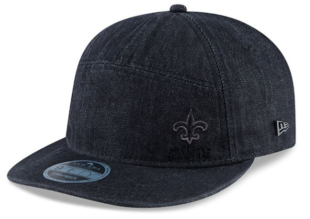 New Orleans Saints Cap - Denim Strapback