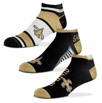 New Orleans Saints Socks - No-Show