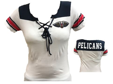New Orleans Pelican Shirt - 2 Tone Tie