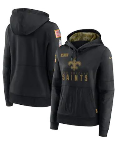 New Orleans Saints Hoody Women - Salute to Service