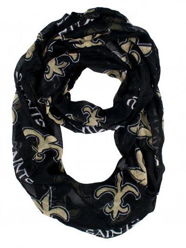 New Orleans Saints Scarf - Sheer Infinity