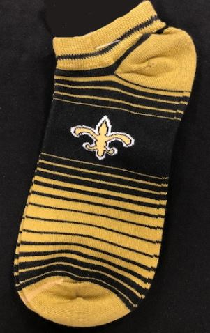 New Orleans Saints Socks - In/Out Stripe