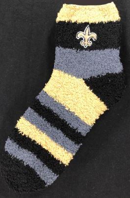 New Orleans Saints Socks - Rainbow