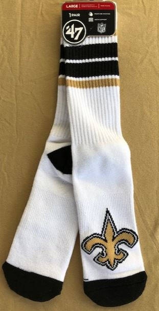 New Orleans Saints Socks - Gilligan Hybird Crew