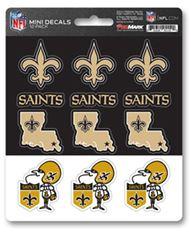 New Orleans Saints Decal - Mini Multi Pack-12