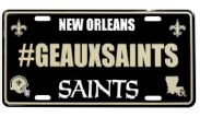 New Orleans Saints Auto Tag - Hashtag