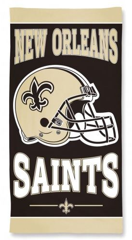 New Orleans Saints Towel - Fiber Beach