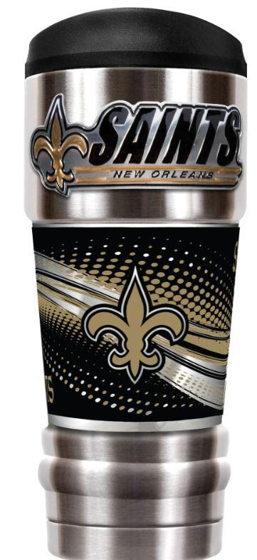 New Orleans Saints Tumbler - Travel Tumbler 18 oz