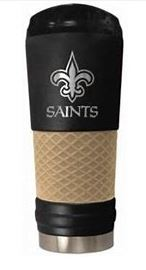 New Orleans Saints Tumbler - THE DRAFT Black Matte