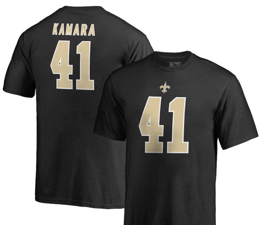 New Orleans Saints T Shirt - #41 Kamara Youth