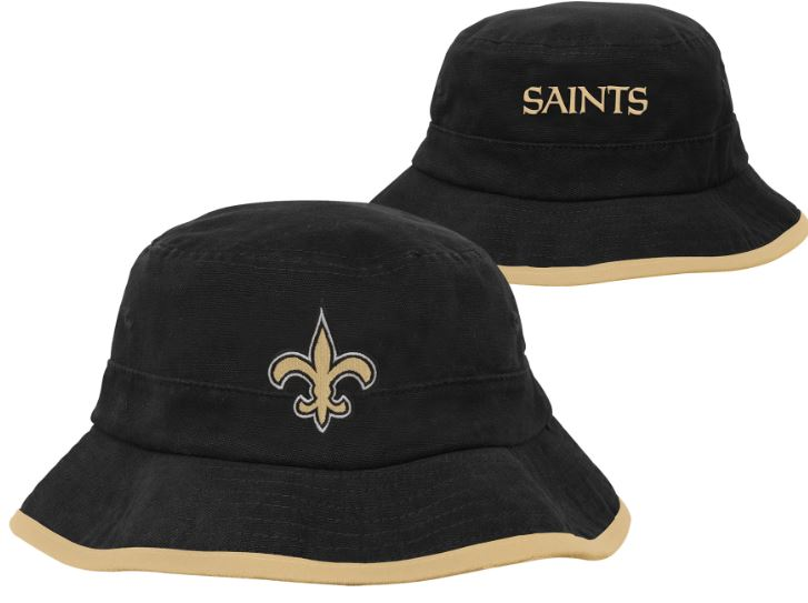 New Orleans Saints Cap Infant/Toddler Bucket