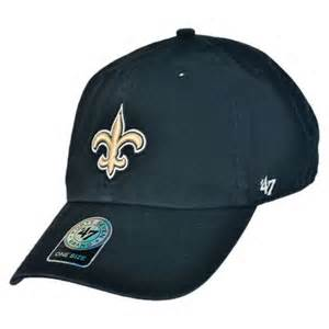 New Orleans Saints 47 Brand Clean Up Adjustable Relaxed Fit Cap