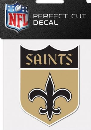New Orleans Saints Decal - Classic Logo Retro