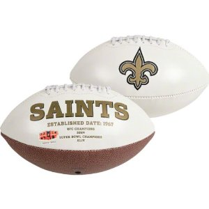 New Orleans Saints Full Size Autograph Football