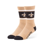 New Orleans Saints 47 Brand Gold Duster Sport Sock
