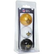 New Orleans Saints Team Golf Balls - 3 Pack