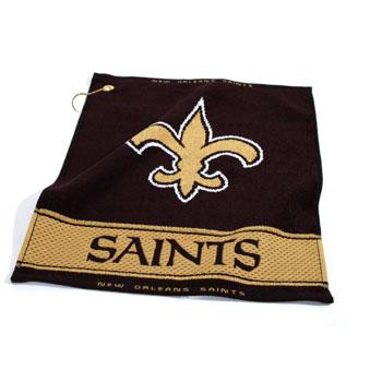 New Orleans Saints Golf Towel