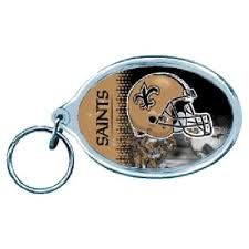 New Orleans Saints Key Chain - Helmet Acrylic