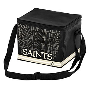 New Orleans Saints 6-pack Insulated Lunch Bag