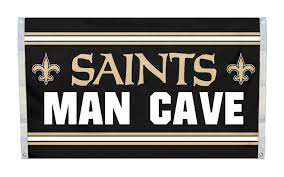 New Orleans Saints Man Cave 3' x 5' Flag