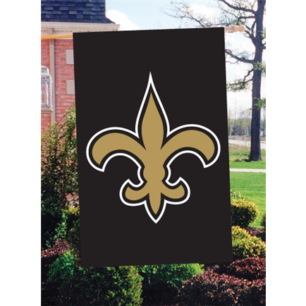 New Orleans Saints Black and Gold Outdoor Flag Indoor Banner