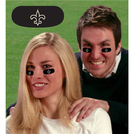 New Orleans Saints Vinyl Face Decorations