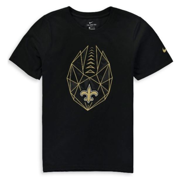 New Orleans Saints Toddler T Shirt - Propulsion Sublimated