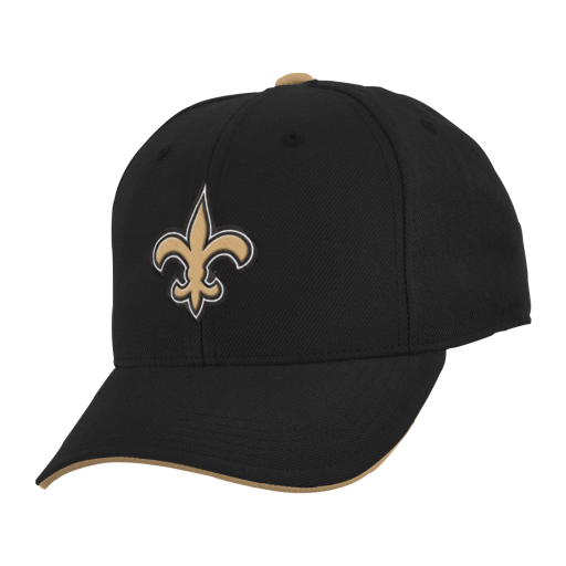 New Orleans Saints Cap Youth Team Color Adjustable