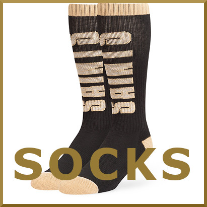 saints socks