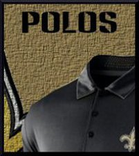 saints polo